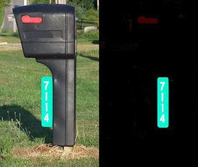 9-1-1 mailbox signage