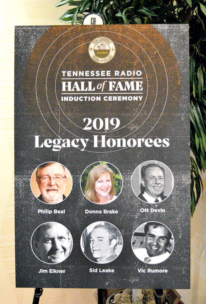 TRHOF Induction