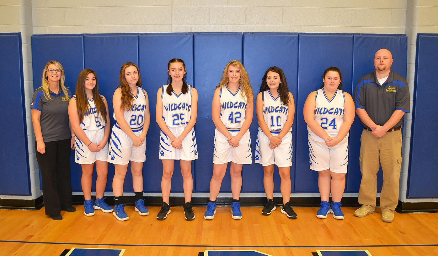 2020-21 Clinch girls varsity basketball team