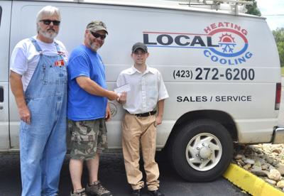CHS senior wins Local Heating and Cooling scholarship to attend trade school