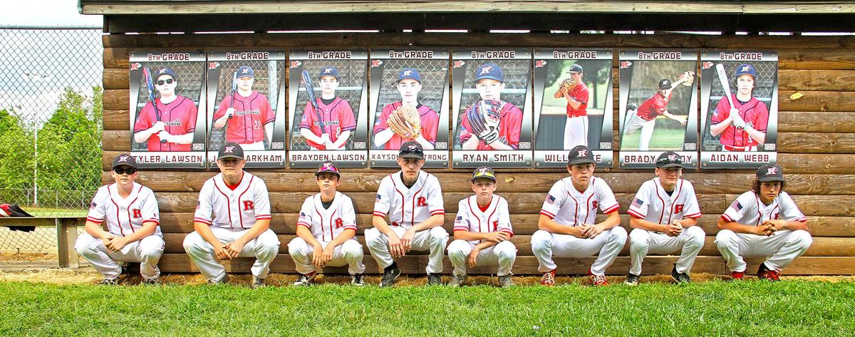 2019 Rogersville City School baseball team 8th graders