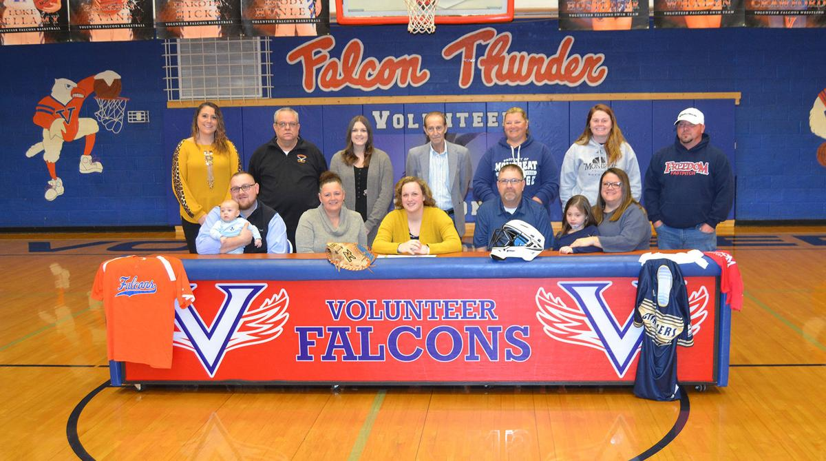 Myrtle Lawson's signing ceremony