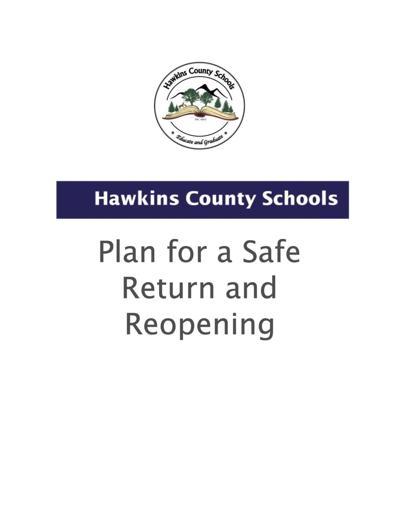 Hawkins Co. Schools announce back to school plan