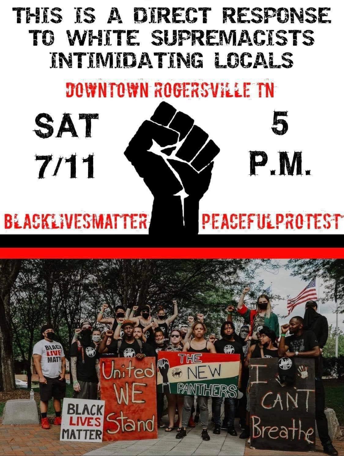 Town of Rogersville releases statement regarding Saturday's scheduled protest