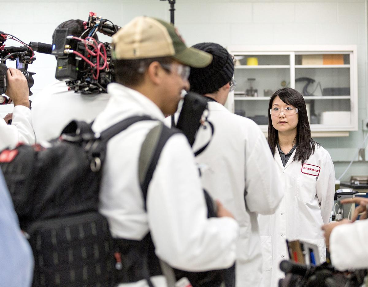 Science Channel focuses on Eastman tire research