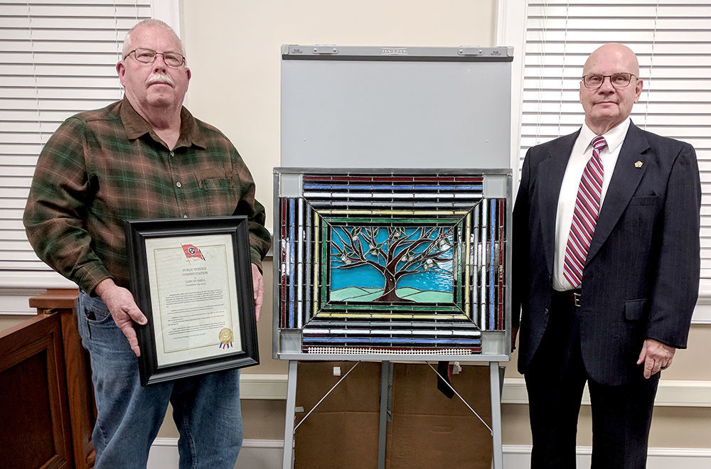 Retired EMA Director honored