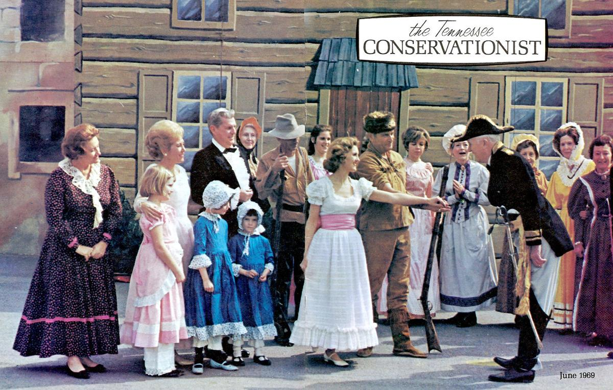 DAVY CROCKETT DRAMA: Aug  12 reunion at Hale Springs Inn