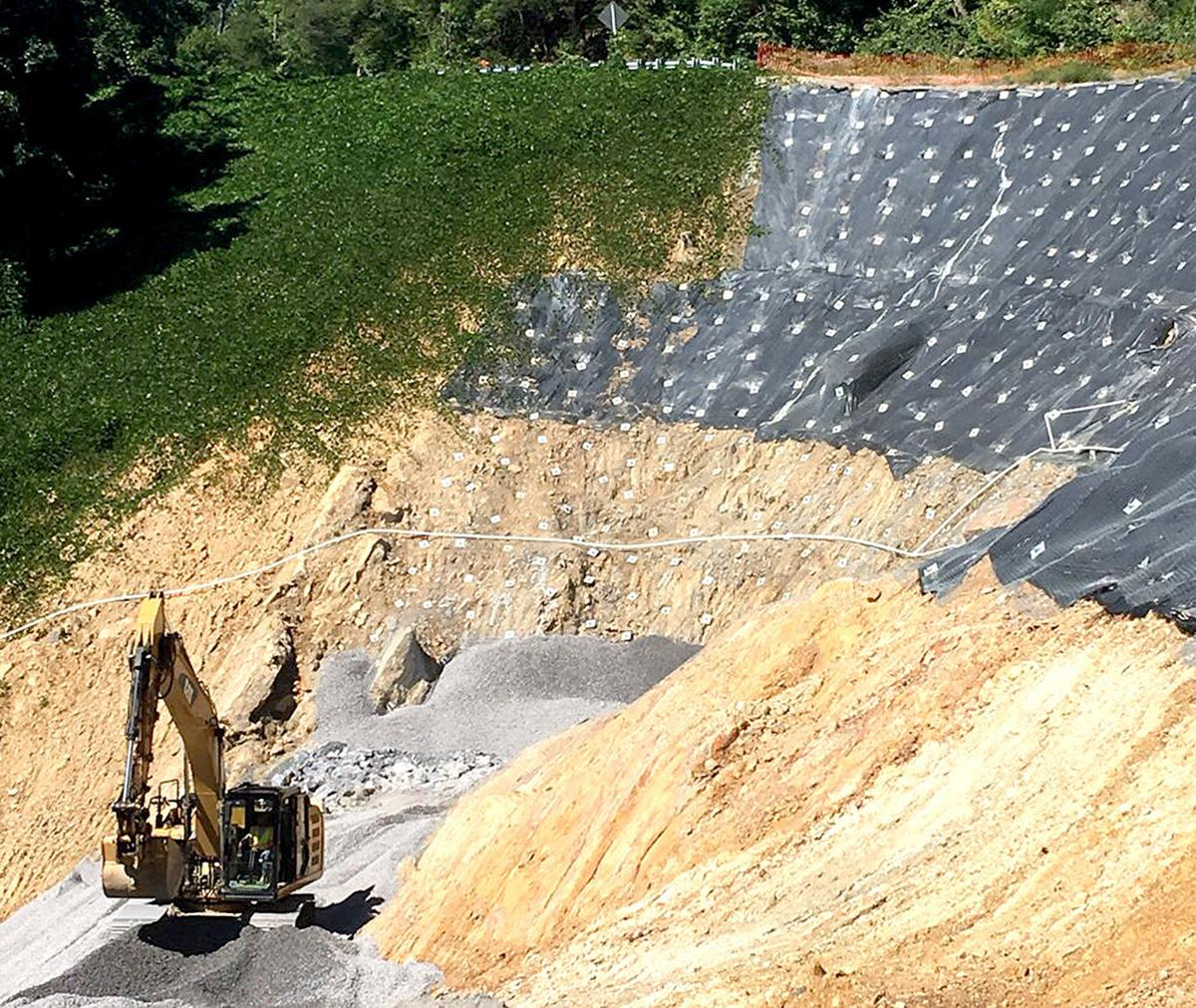 Work continues on SR 70