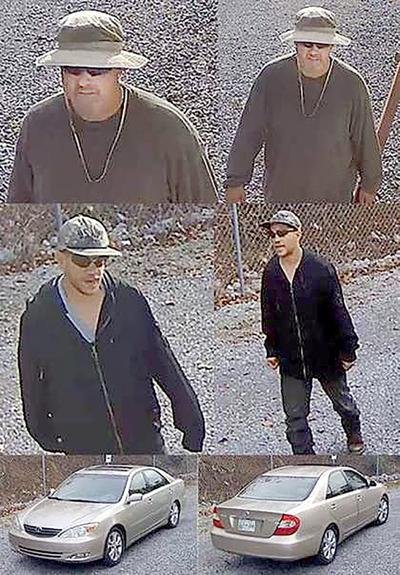 Photos from video surveillance cameras