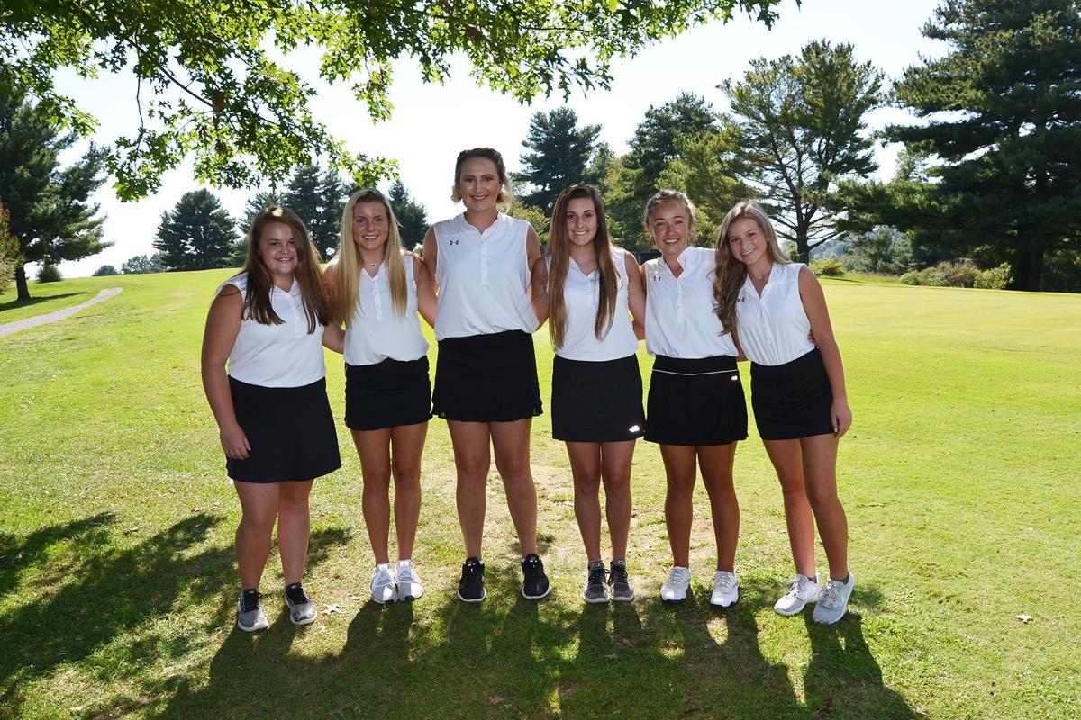 2019 Cherokee girls golf team