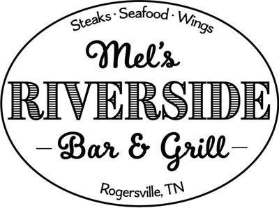 Mel's Riverside Bar & Grill logo