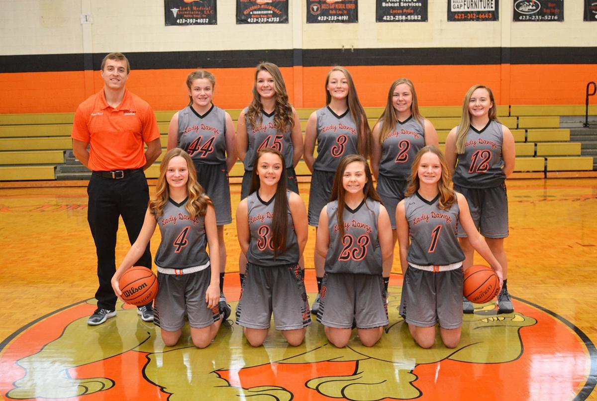 Bulls Gap girls varsity