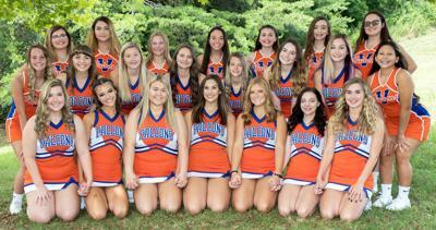 Volunteer High School 20-21 Cheerleading Team