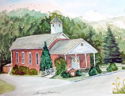 Country Church Houses of Hawkins County
