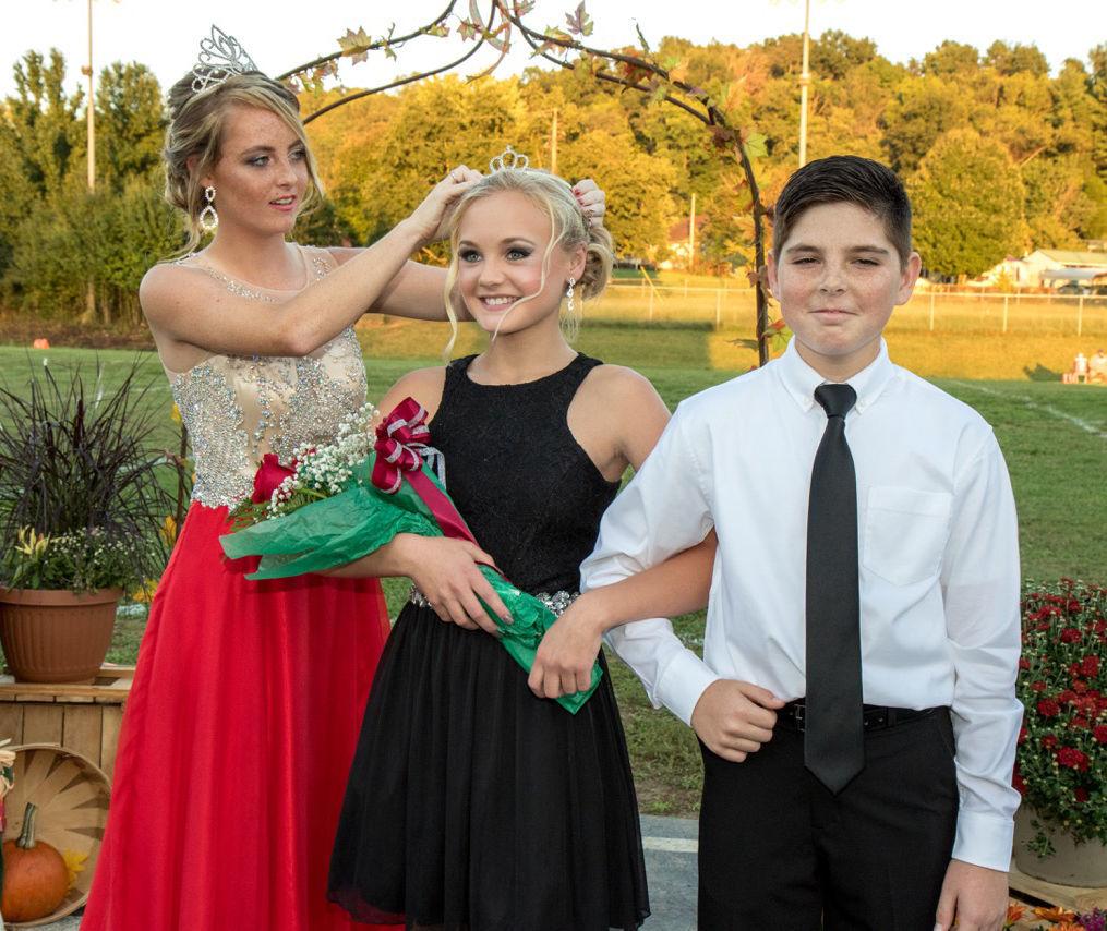 rogersville middle school 2018 homecoming queen s