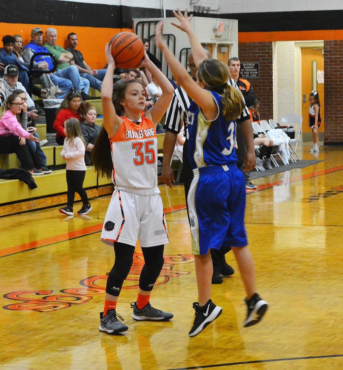 Bulls Gap's Kaylee Cinnamon