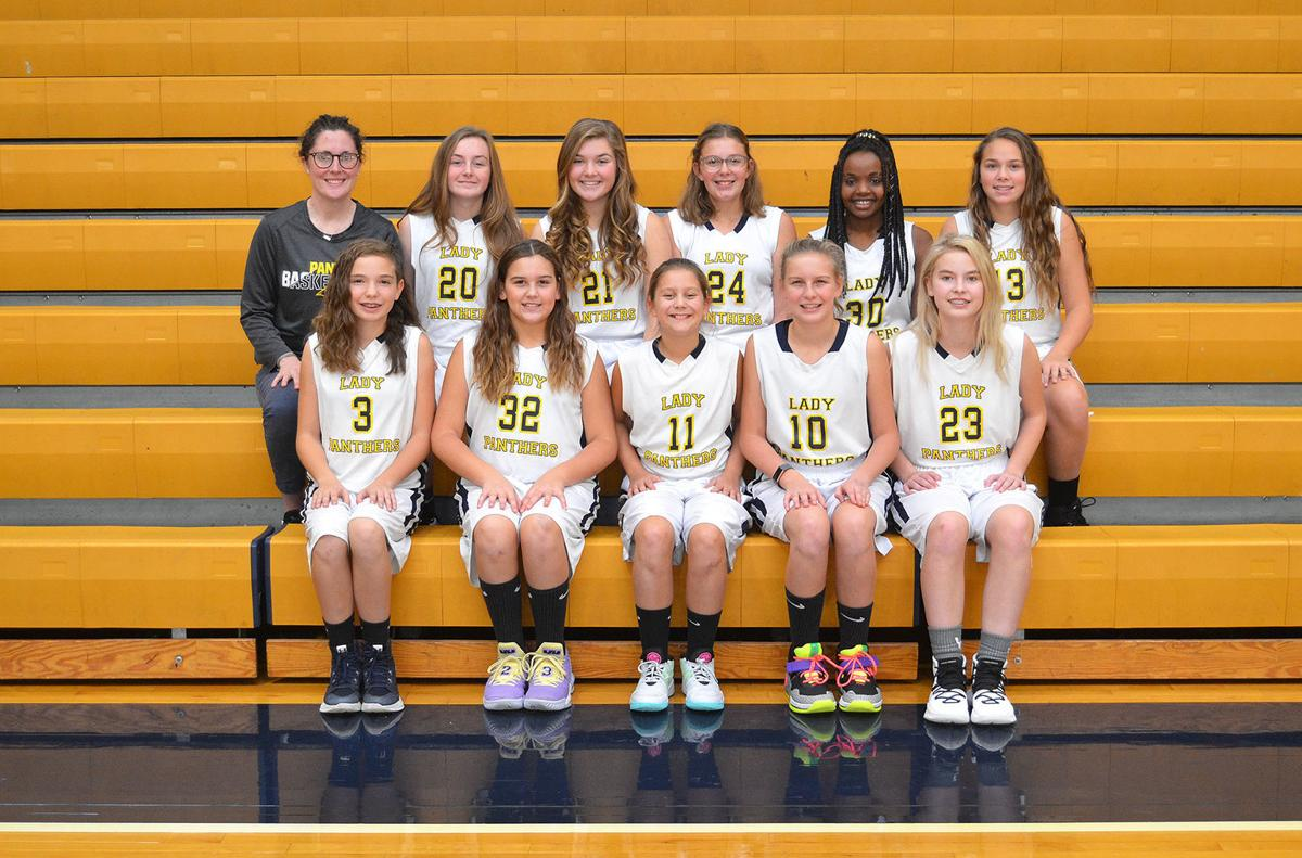 Church Hill Middle School girls varsity