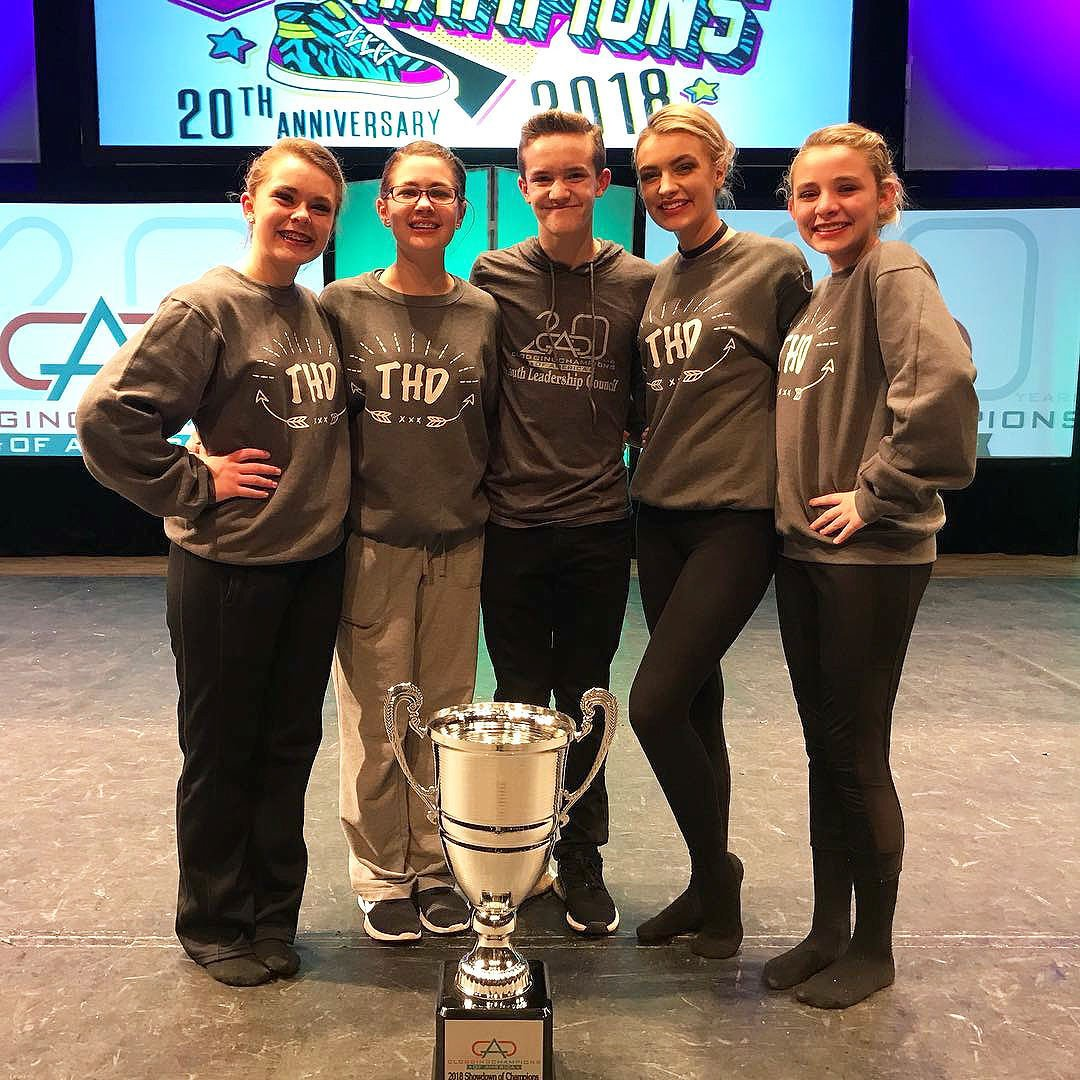 Surgoinsville clogging team kicks tail at national competition
