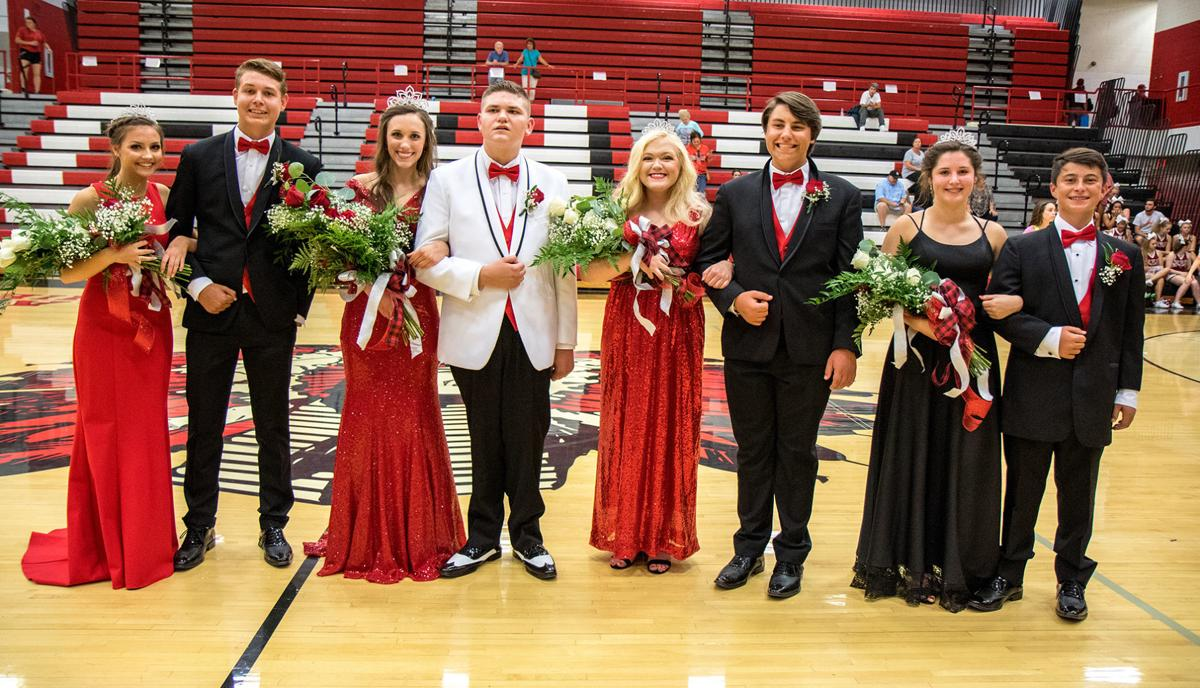 Cherokee's 2019 Homecoming Queen and her Court