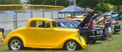 Variety of Vehicles At Car Show (copy)
