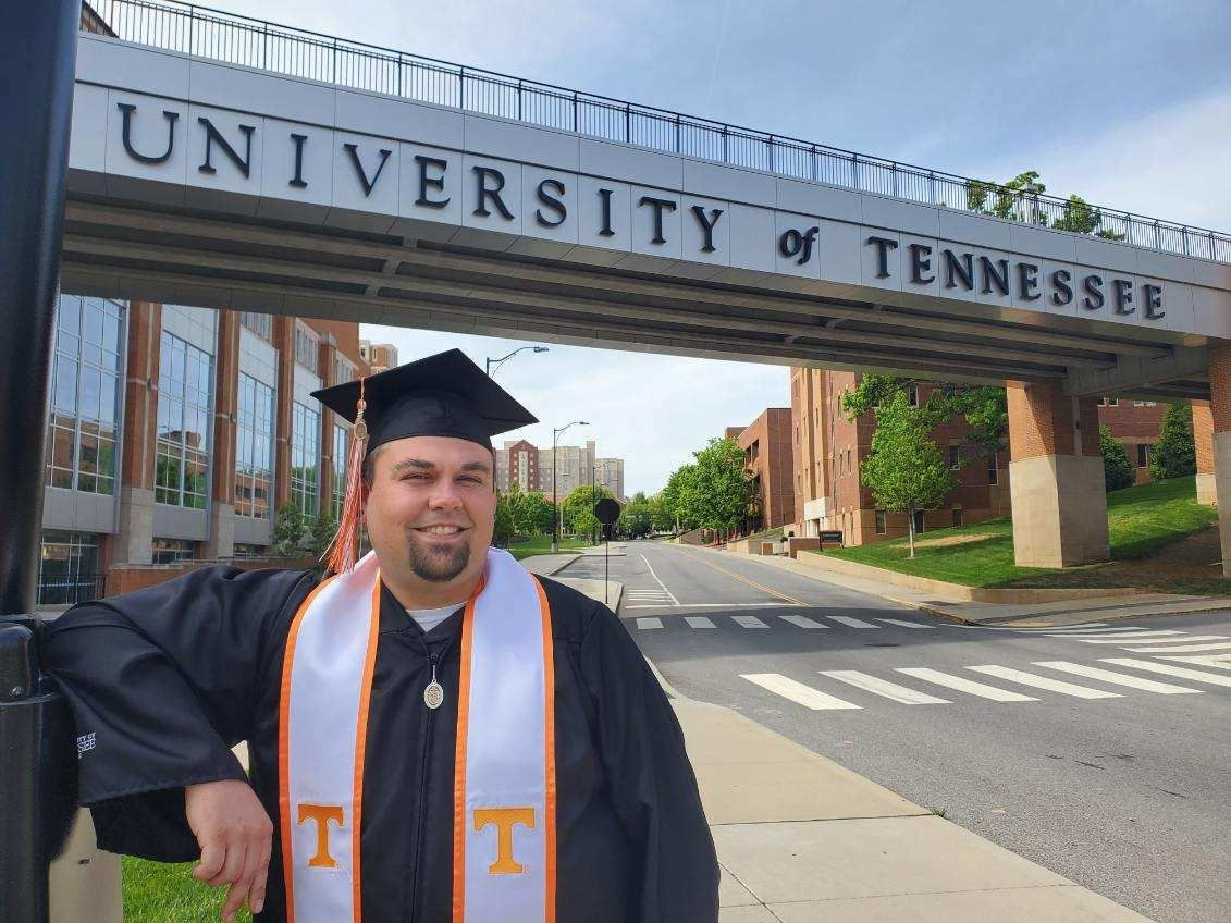 """He's always loved anything that went fast:"" Hawkins man earns degree in mechanical engineering, but may not get to celebrate graduation due to COVID-19"