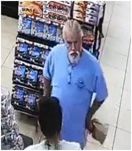 Can you identify this suspect? Suspect 'inappropriately' touched woman, cops say