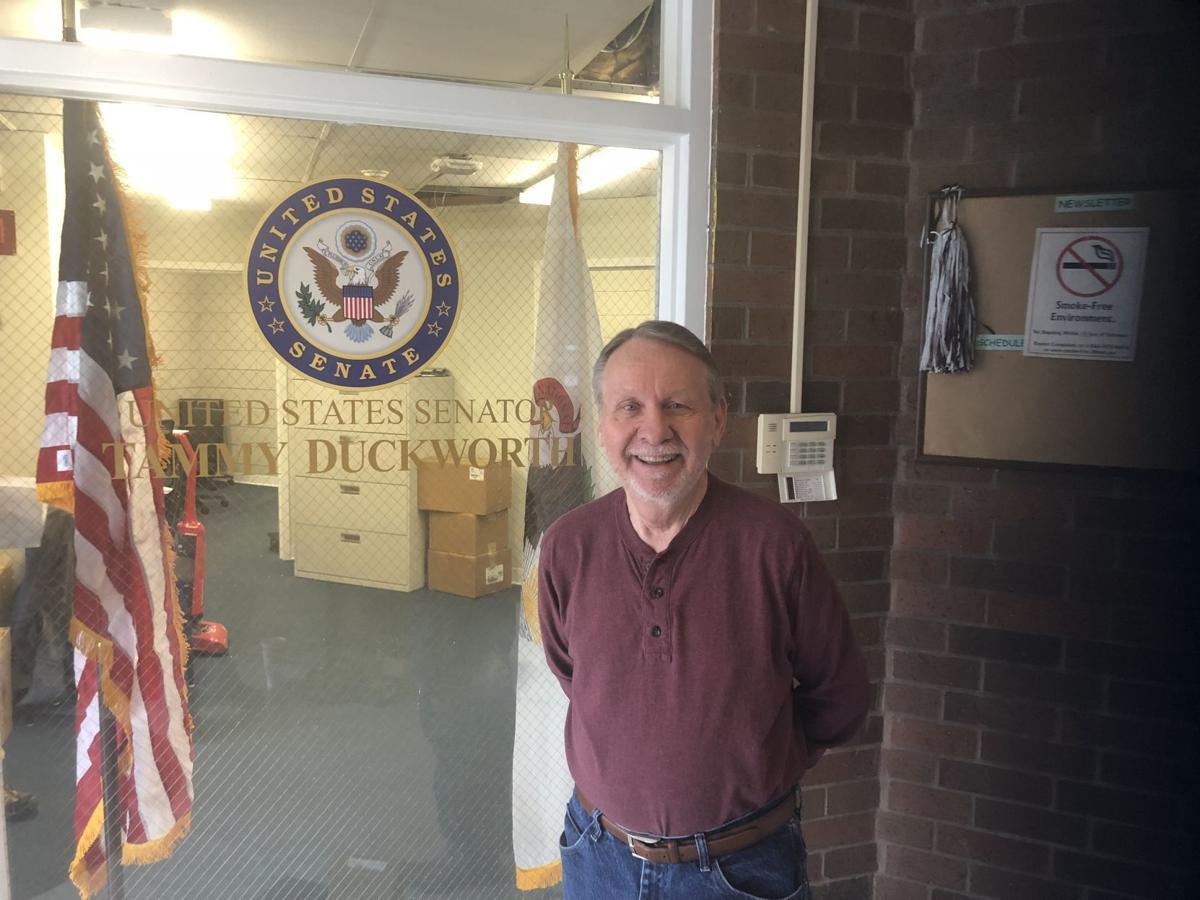 U.S. Senator Tammy Duckworth's new constituent office at Eurma C. Hayes Center
