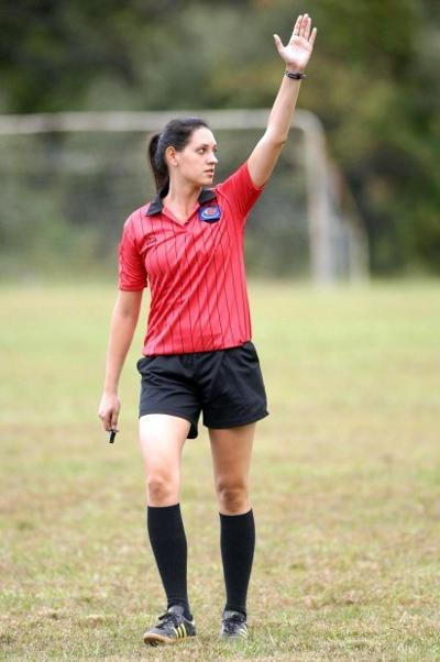 Students Make Mark As Soccer Referees
