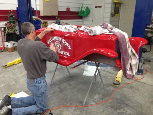 Shriner Car: Shriner's Little Car Is Repaired By West Frankfort Shop
