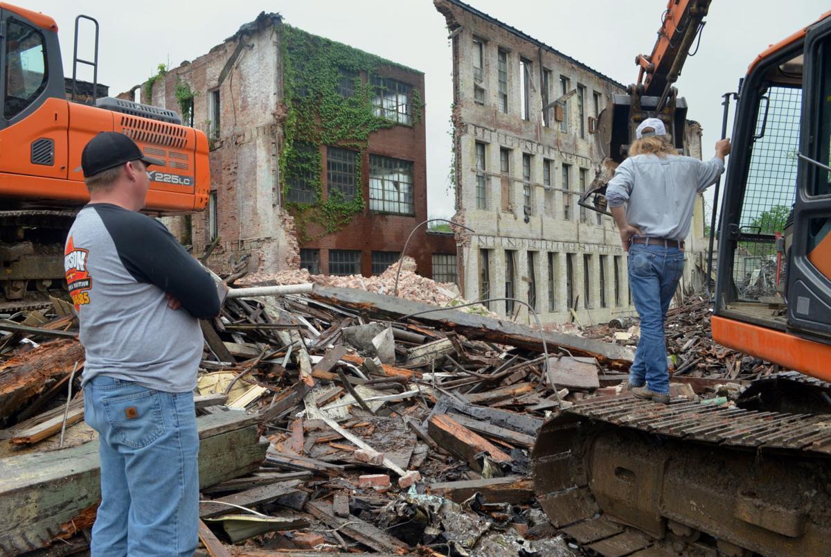 Old Brown Shoe Factory Demolition