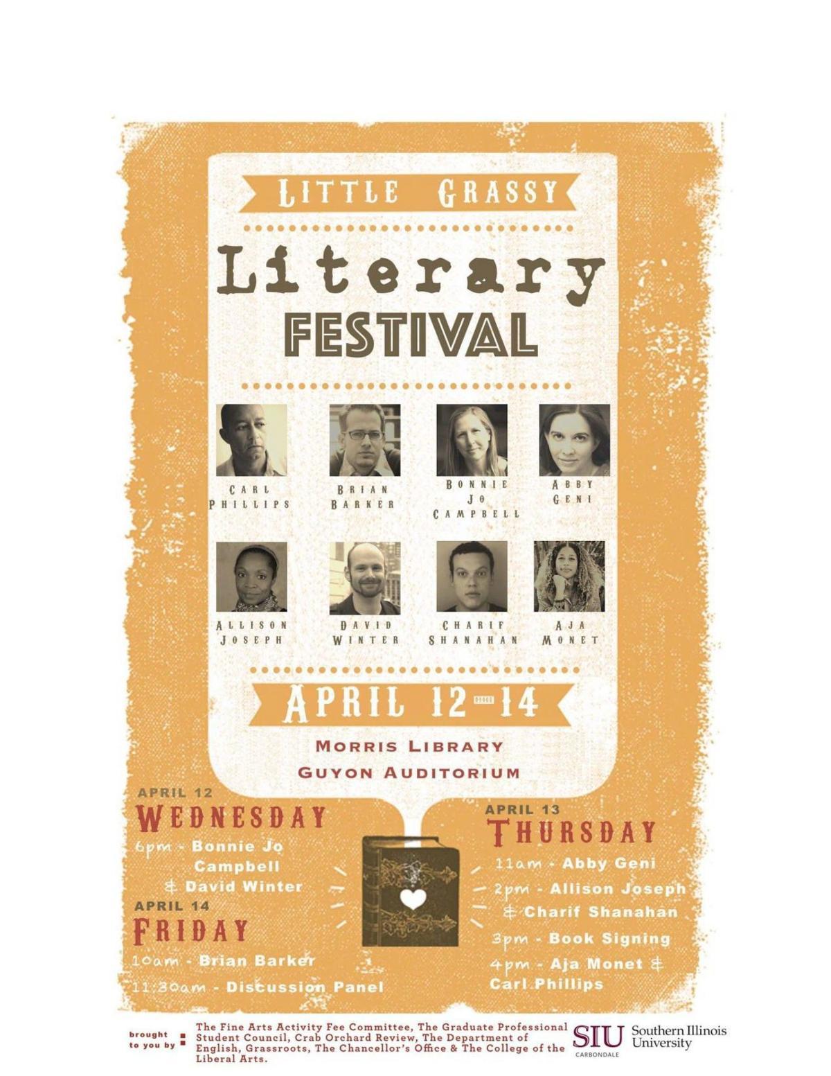 Little Grassy Literary Festival 2017