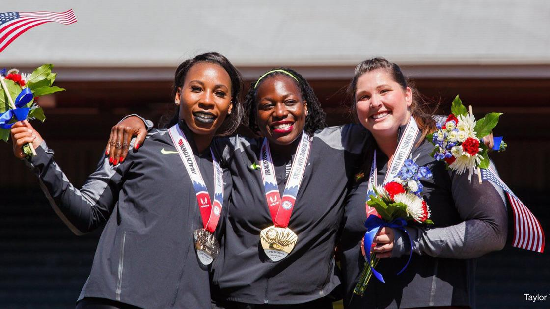 Former Salukis Deanna Price Gwen Berry Make Iaaf Worlds