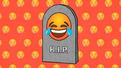 Sorry, millennials. The 😂  emoji isn't cool anymore