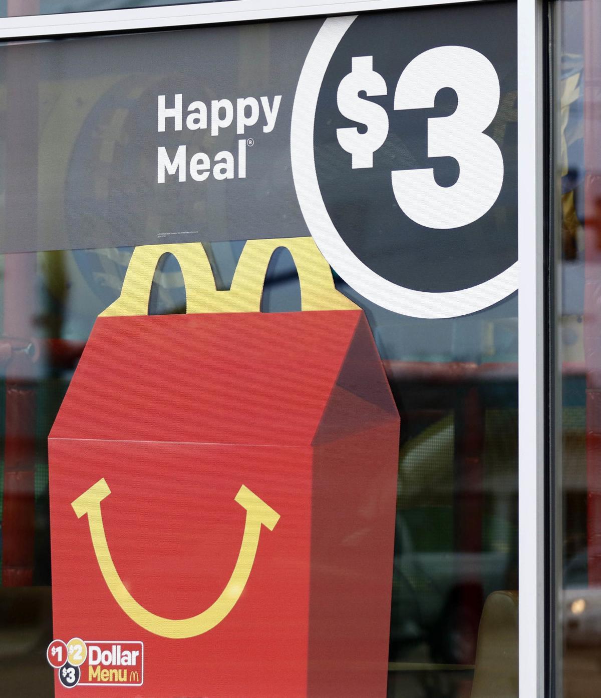 McDonalds Happy Meal Changes