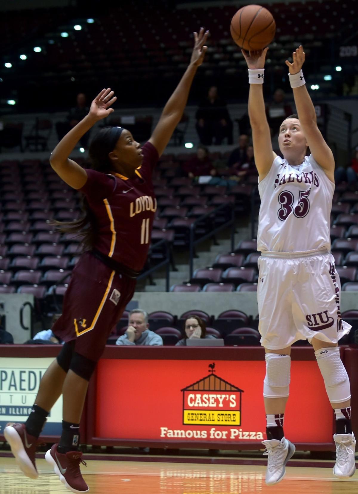 Saluki Women's Basketball | SIU downs Loyola, Stein gets win No. 350