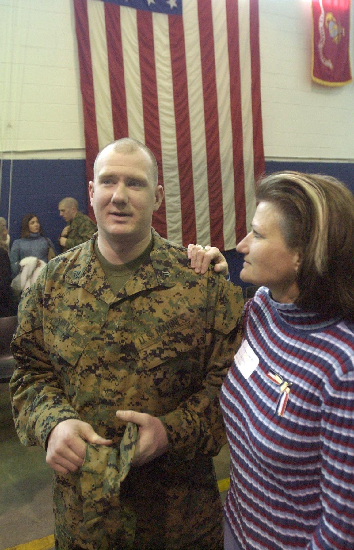 Jeremy Shipley before he deployed