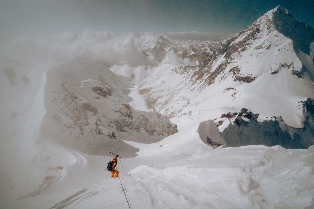 Descending Lhotse