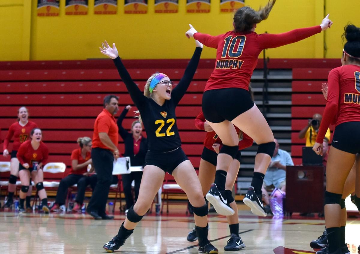 Prep Volleyball: Murphysboro defeats Harrisburg