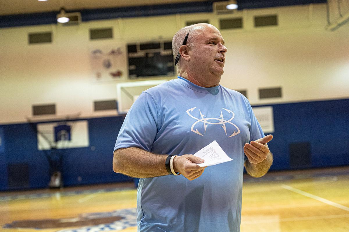 Indiana State coach Josh Schertz