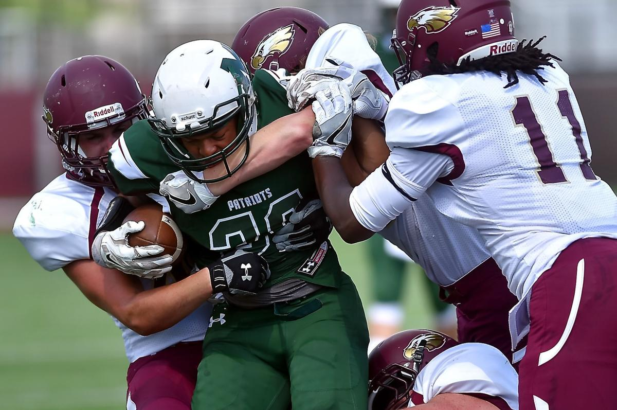 morthland college wins first varsity football game