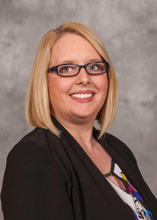 Jackson County Board member Elizabeth Hunter