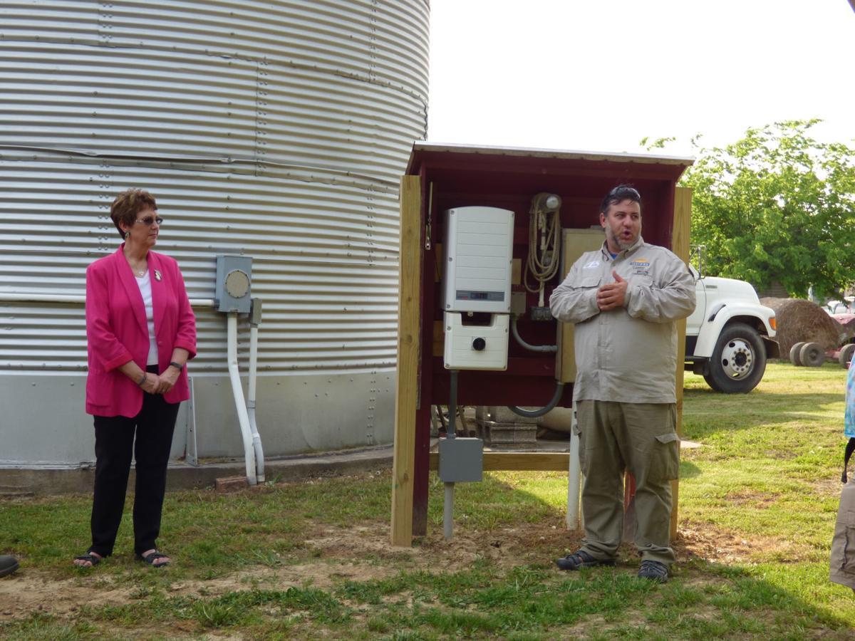 Jones Farm solar installation 2