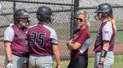 SIU softball coach Jen Sewell