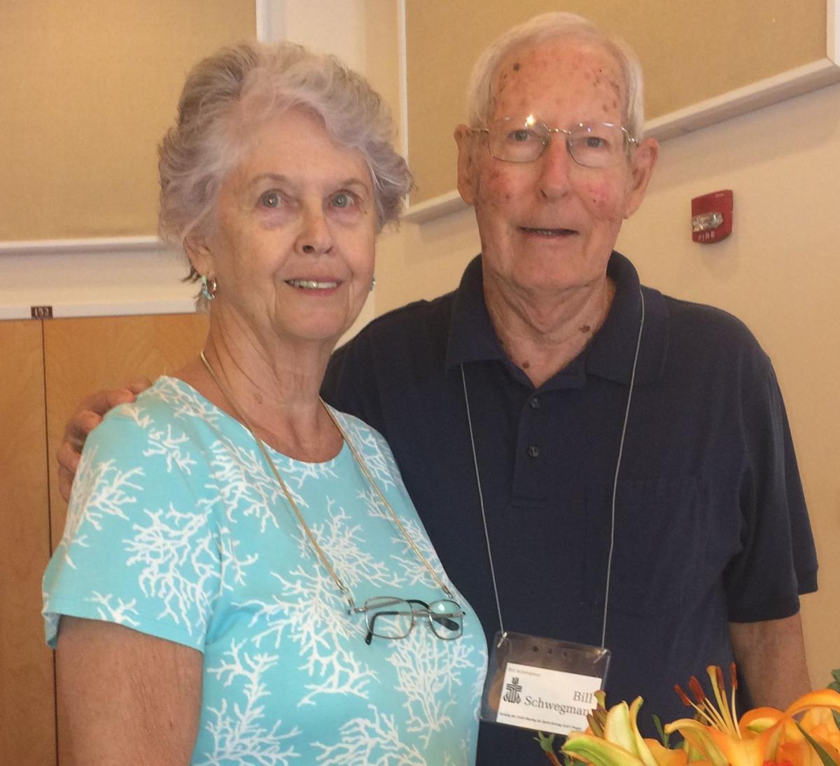 Bill and Judy Schwegman