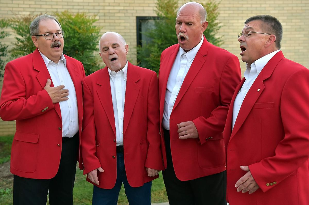 In a world of clashing cymbals, barbershop quartet Touch of