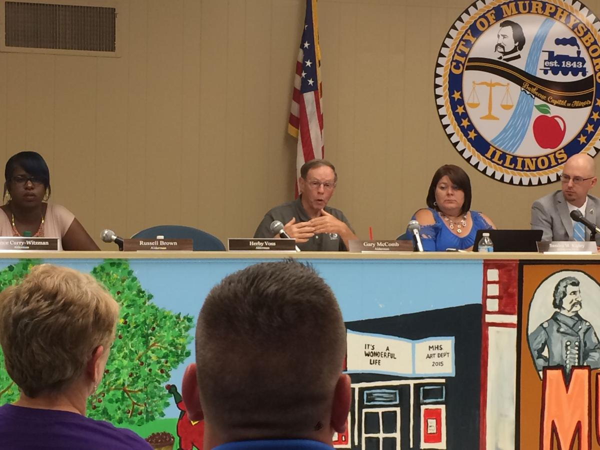 Murphysboro City Council reacts to Jackson Growth Alliance funding request