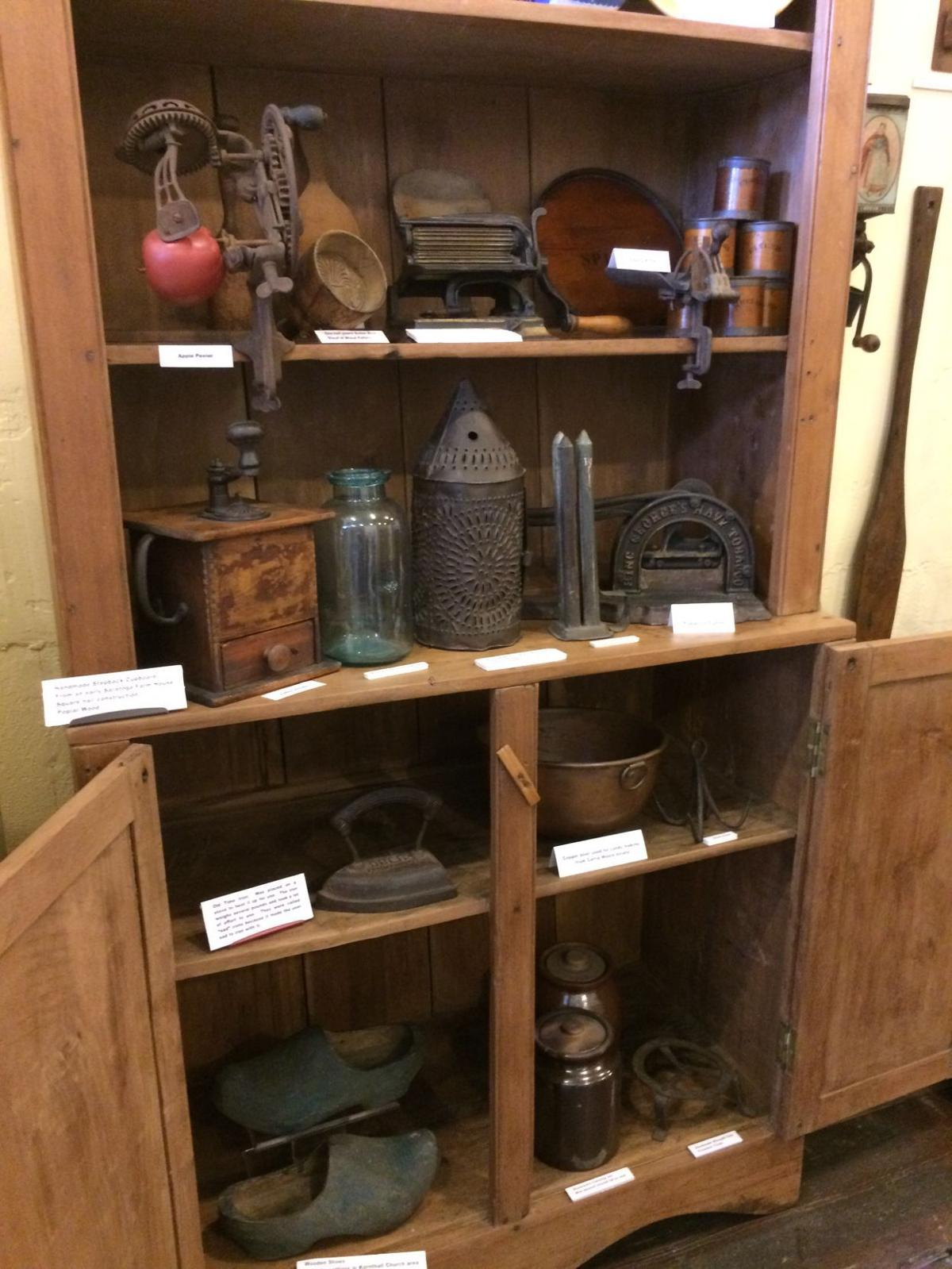 Union County Bicentennial: Early tools and accoutrements