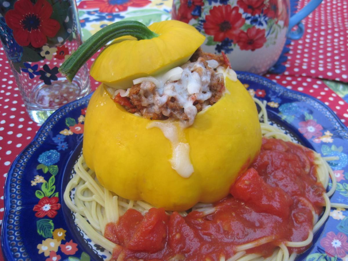 Italian-style pattypan squash recipe