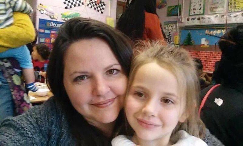 Jennifer Bryant and her daughter, Americus