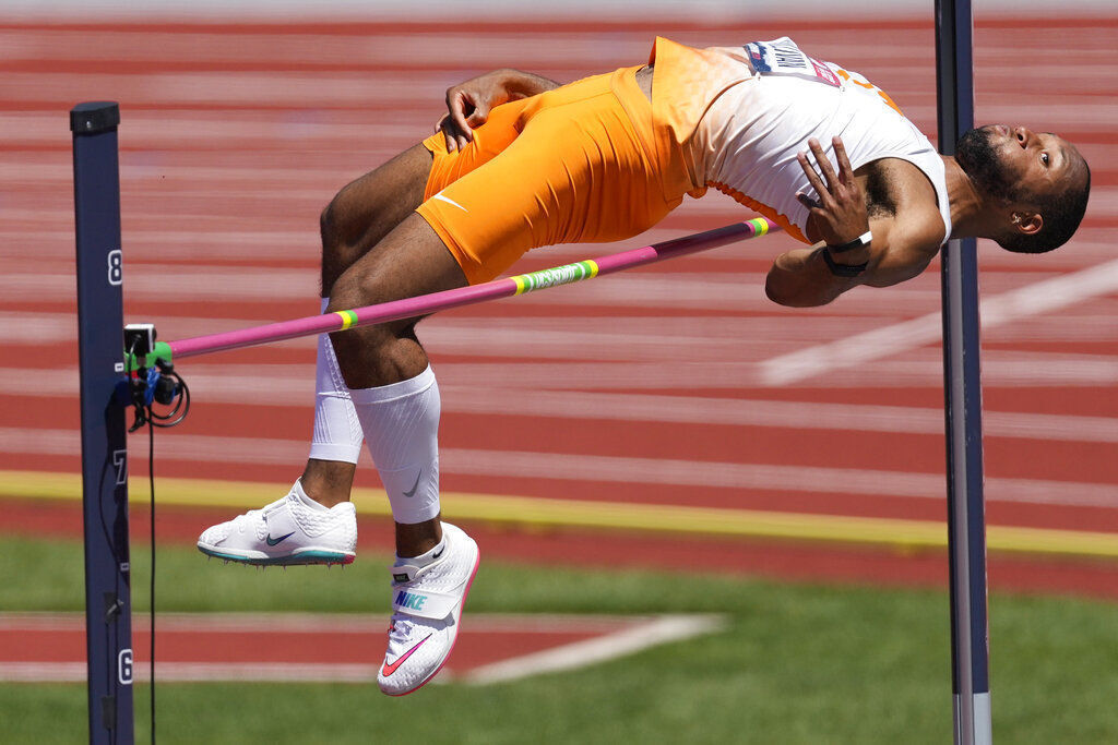 Darryl Sullivan, United States: High jump